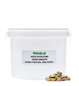 Pasta pistacjowa Super Smooth 3 kg